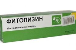 Фитолизин для лечения цистита