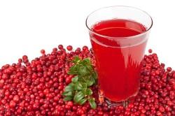 Сок клюквы для лечения цистита