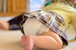 Возникновение цистита из-за ношения подгузников